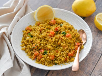 Image forPressure Cooker Vegetable Quinoa Pulau