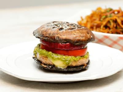 Image forPortobello Mushroom Burger