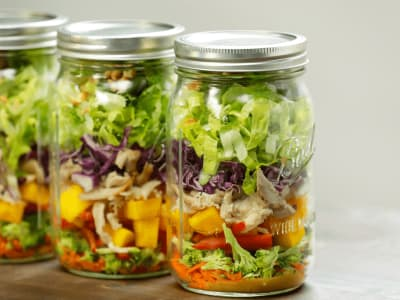 Image forMeal Prep: Thai Chicken Salad Jars