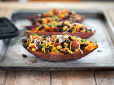 Image forTaco-Stuffed Sweet Potatoes
