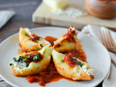 Image forPressure Cooker Stuffed Shells