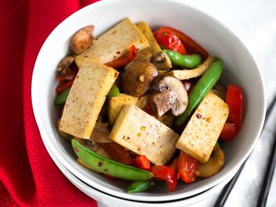 Image forLemongrass Tofu Stir-Fry