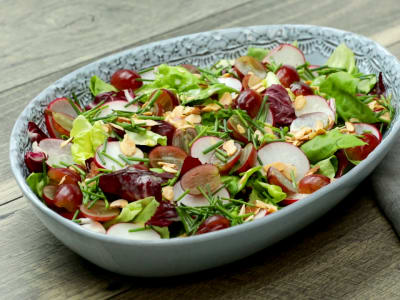 Image forGrape & Almond Salad
