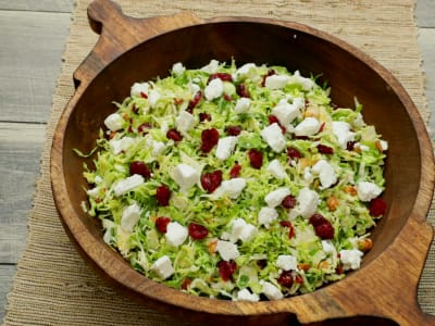 Image forShaved Brussels Sprouts Salad