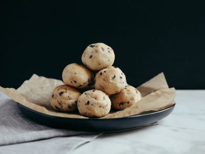 Image forPaleo Chocolate Chip Cookie Balls