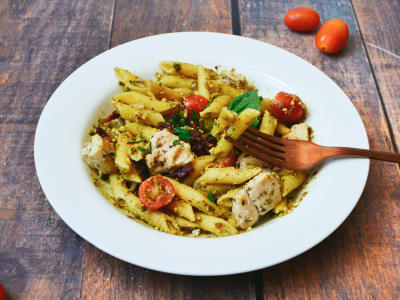 Image forOne Pot Pesto Penne Pasta