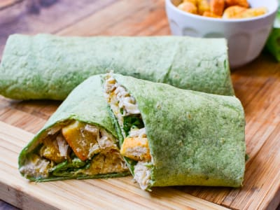 Image forChicken Caesar Wraps
