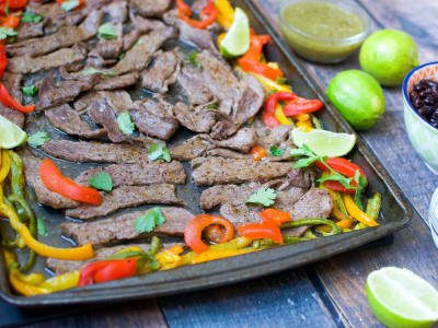 Image forMeal Prep: Sheet Pan Steak Fajitas