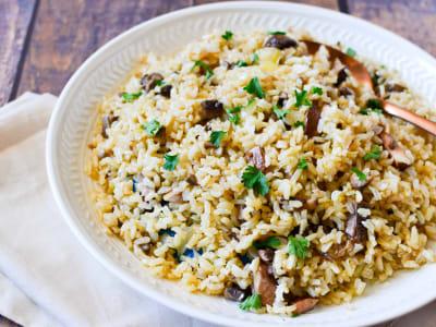 Image forMushroom Rice Pilaf