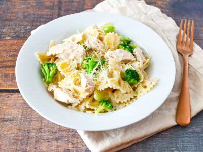 Image forCreamy Chicken and Broccoli Pasta