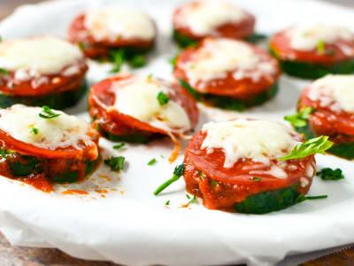 Image forZucchini Pizza Bites