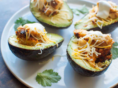 Image forChicken Avocado Boats