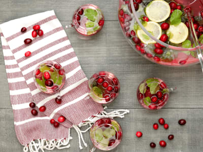 Image forCranberry Champagne Punch