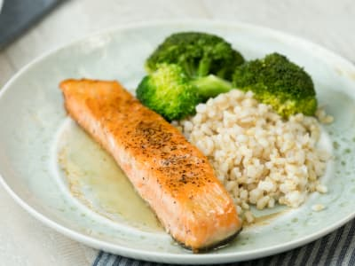 Image forHoney and Garlic Salmon