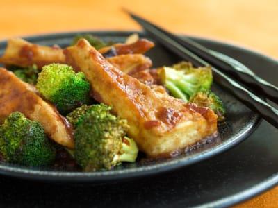 Image forGeneral Tso's Sheet Pan Tofu