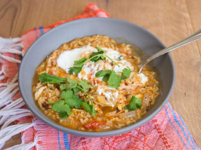 Image forChipotle Chicken and Rice Stew