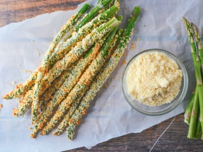 Image forBaked Asparagus Fries