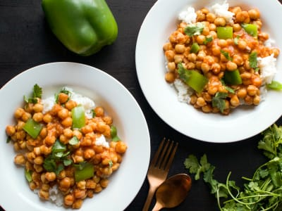 Image forVegan Butter Chickpea Curry