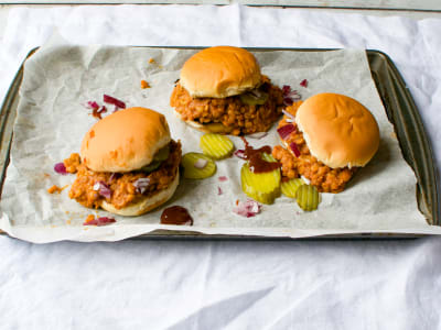 Image forPressure Cooker Vegan Sloppy Joes