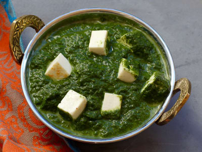 Image forSlow Cooker Palak Paneer