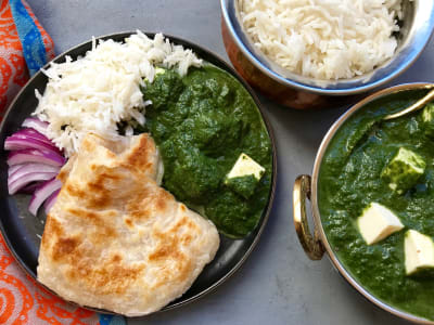Image forPressure Cooker Palak Paneer