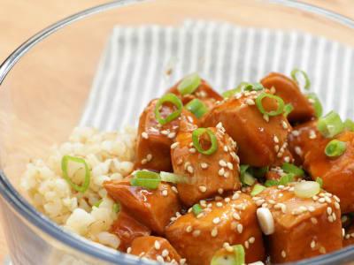 Image forMeal Prep: Pressure Cooker Skinny Sesame Chicken