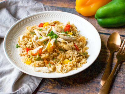 Image forPressure Cooker Cajun Chicken and Rice