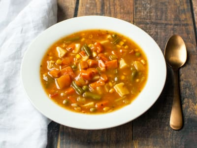 Image forPressure Cooker Hearty Vegetable Soup