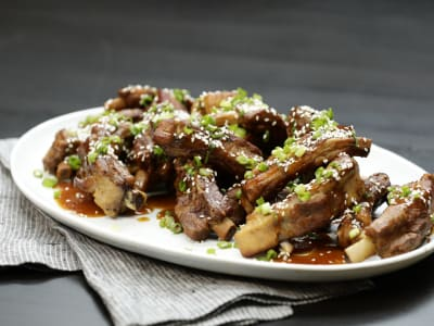 Image forPressure Cooker Asian Baby Back Ribs