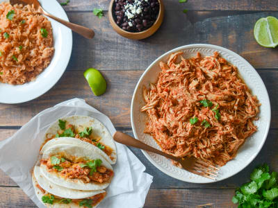 Image forPressure Cooker Mexican Shredded Chicken