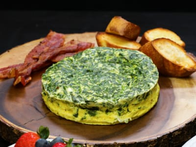 Image forPressure Cooker Spinach-Egg Frittata