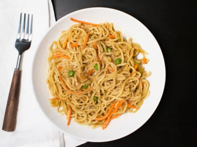 Image forPressure Cooker Vegetable Lo Mein