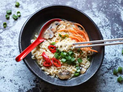 Image forPressure Cooker Ramen Noodle Soup