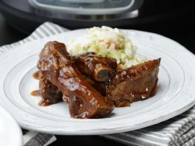 Image forPressure Cooker Barbeque Baby Back Ribs