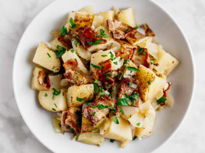 Image forGrandma's Pressure Cooker Hot German Potato Salad