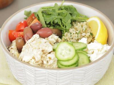 Image forPressure Cooker Mediterranean Chicken Bowls