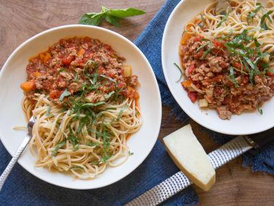 Image forPressure Cooker Bolognese Sauce, Inspired by Skinny Taste