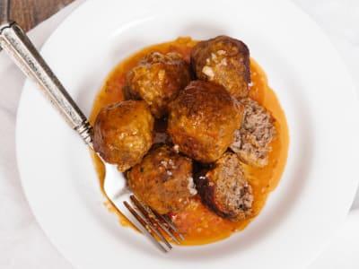Image forPressure Cooker Meatballs