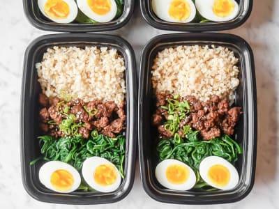 Image forMeal Prep: Korean Beef Bowls