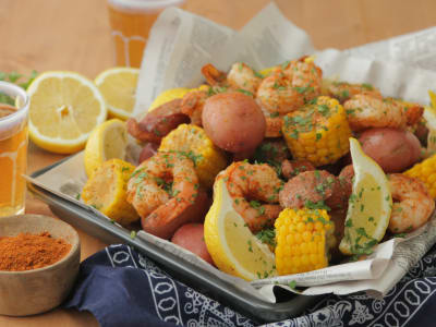 Image forPressure Cooker Low Country Boil