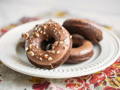 Image forGluten-Free Chocolate Cake Donuts
