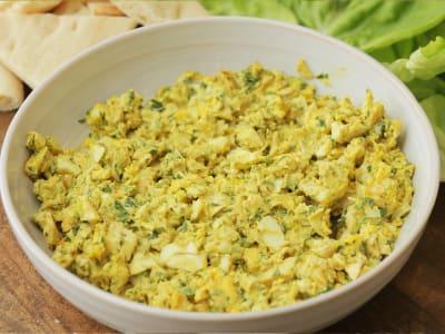 Image forPressure Cooker Curried Egg Salad