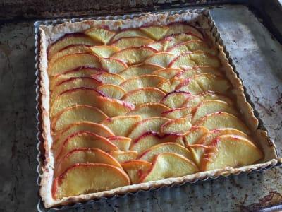 Image forSimple Peach Tart