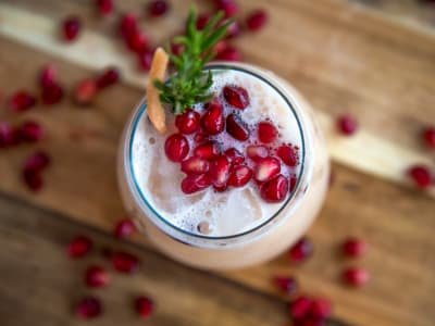 Image forSkinny Grapefruit and Pomegranate Cocktail
