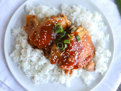 Image forPressure Cooker Honey-Garlic Chicken