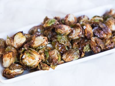 Image forAir Fryer Crispy Brussels Sprouts