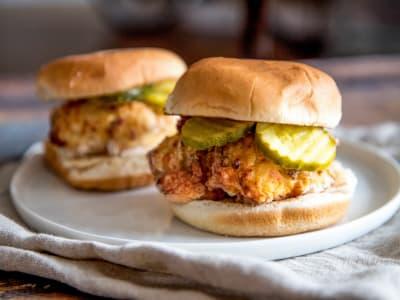 Image forAir Fryer Chick-Fil-A Crispy Chicken Sandwich