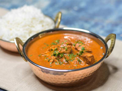 Image forPressure Cooker One-Pot Chicken Tikka Masala with Basmati Rice