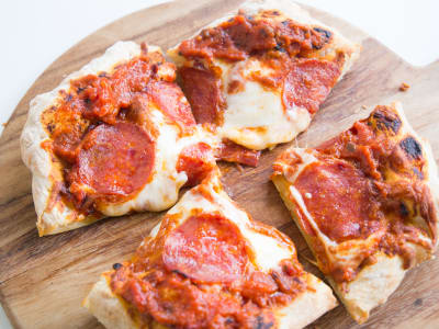 Image forAir Fryer Pepperoni Pizza