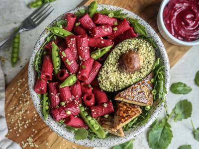 Image forPressure Cooker Beet Pasta